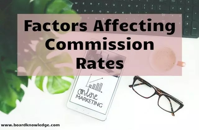 Factors That Affect Your Affiliate Marketing Commissions