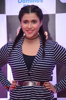 Actress Mannara Chopra Pictures at Mirchi Music Awards South 2015  0008