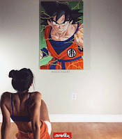 pinturas de dragon ball