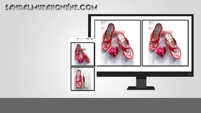 Pabrik Sandal Murah Online- Wedges CPC Anak Tanggung