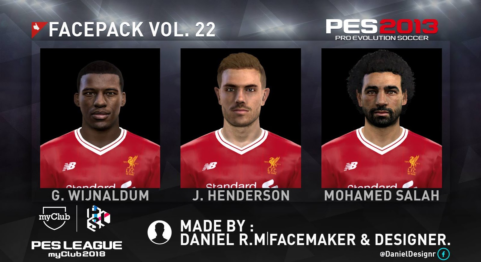 ultigamerz  PES 2013 Liverpool Mini Face Pack 2018 2eef22154