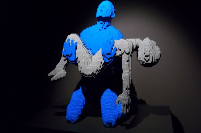 The Art of the Brick par Nathan Sawaya my boy