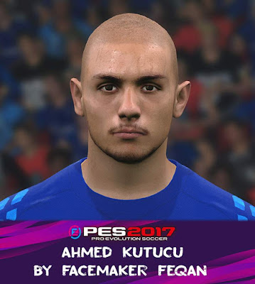 PES 2017 Ahmed Kutucu Face by Feqan