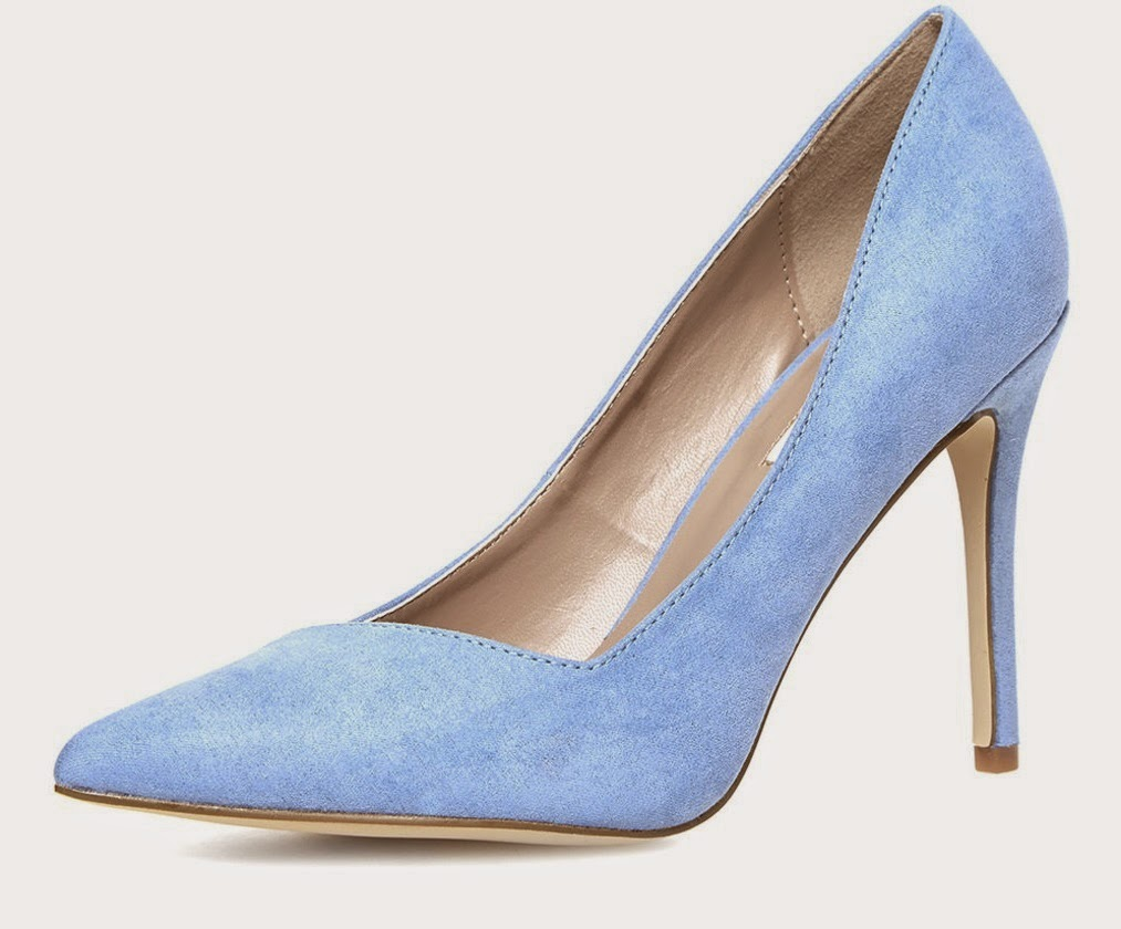 Dororthy Perkins wide fit pointed court shoes