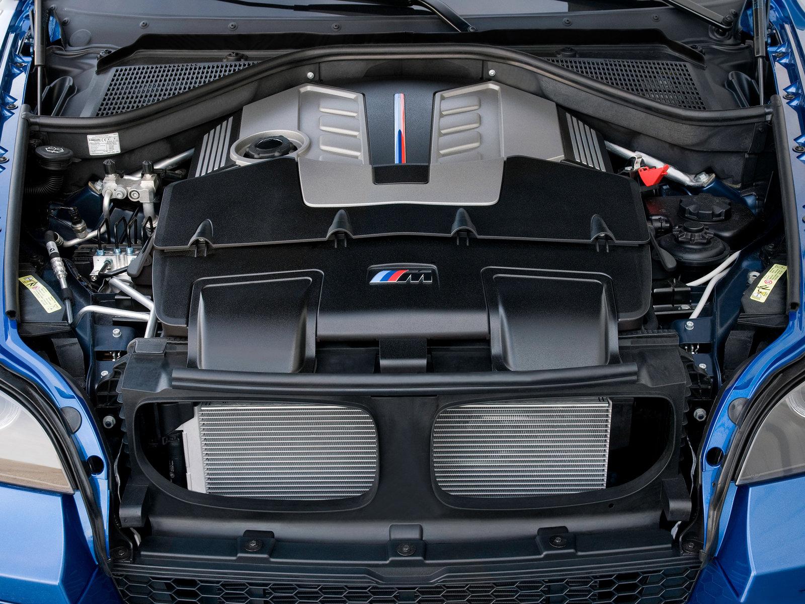 2010 BMW X5 M engine