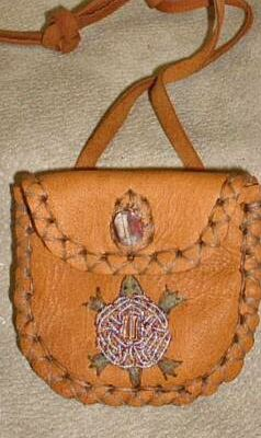 A Medicine Bag Is Basically Sacred Pouch Often Small That S Only Few Inches Square You Wear It Like Necklace