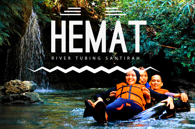 green santirah river tubing paket hemat