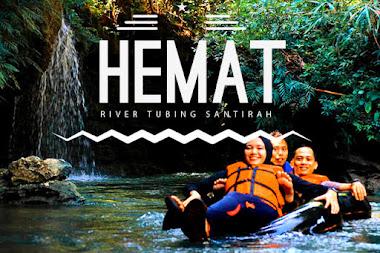 wisata river tubing santirah pangandaran