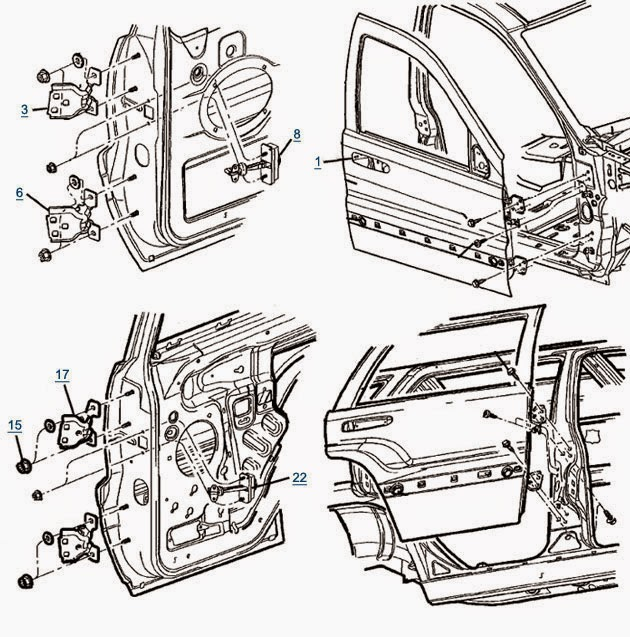Car Door Parts Reviews on 2005 Chrysler Sebring Parts Diagram