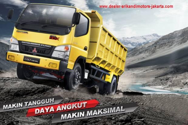 kredit dp ringan colt diesel dump truck 2019