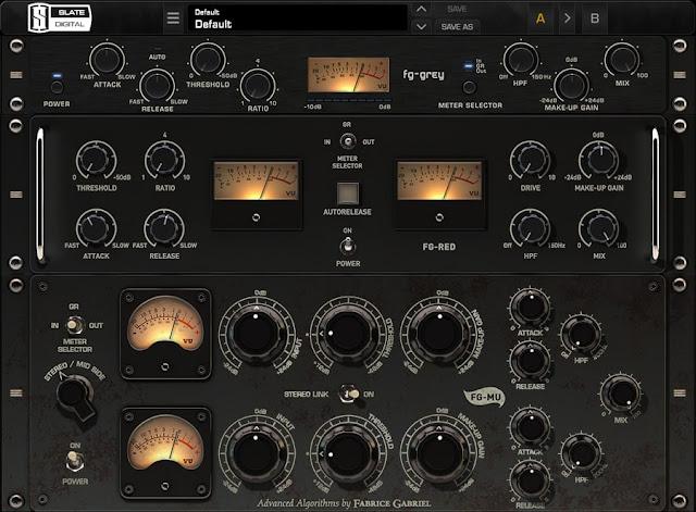 Interface do Plugin Slate Digital - Virtual Buss Compressors 2020.12