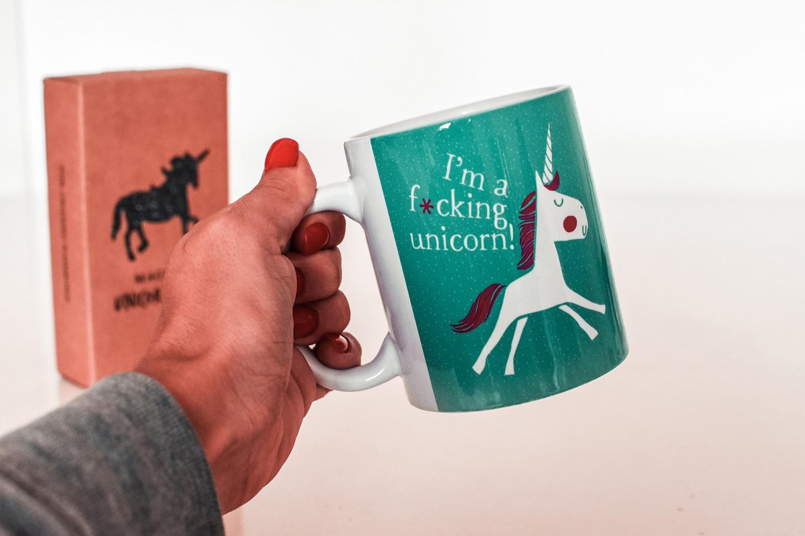 tazza unicorno