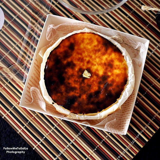 JUJU BAKESS Homemade Basque Burnt Cheesecake Delivery