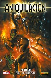 Review de Aniquilación Saga, el renacimiento del Marvel Cósmico, de Panini Cómics
