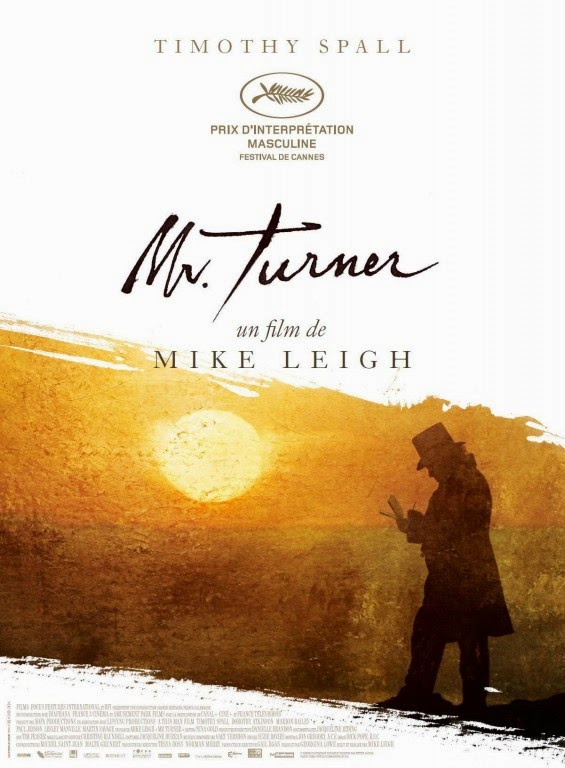 Affiche française de Mr Turner, de Mike Leigh (2014)