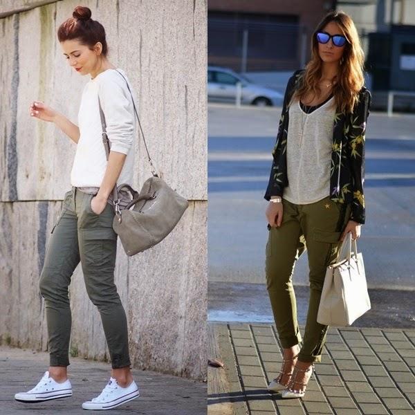 Trendy Caos By Carol Martin En Primavera Ponte El Pantalon Cargo