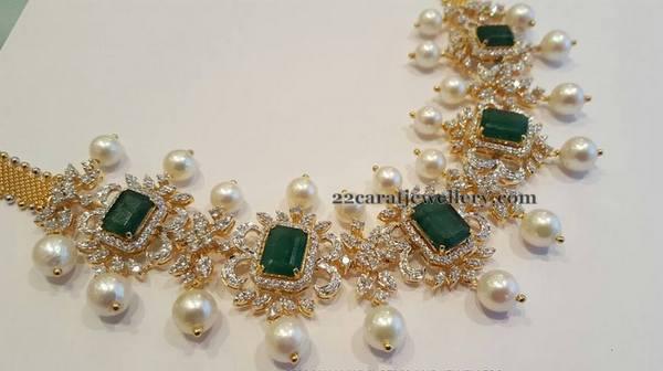 Regal Diamond Set By Mahalaxmi Jewellers Jewellery Designs