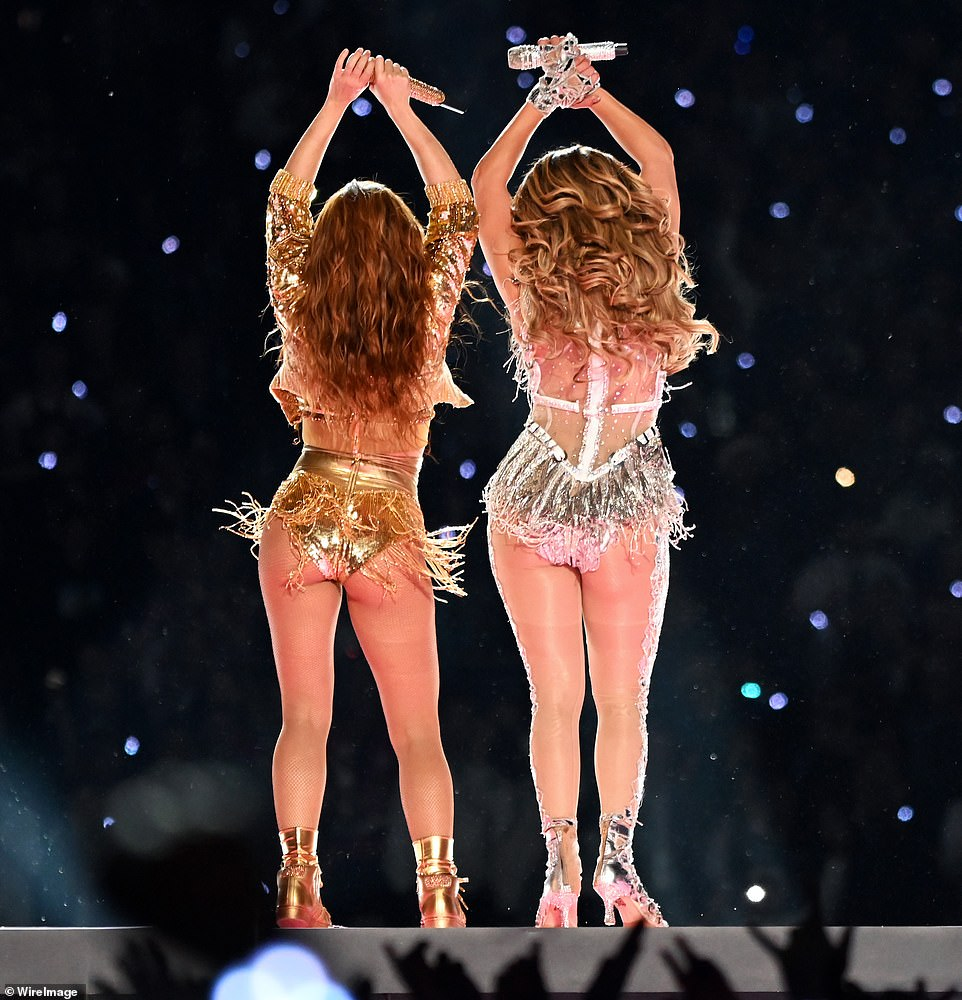 Shakira and Jennifer Lopez rocked the Super Bowl LIV halftime show in Miami on Sunday