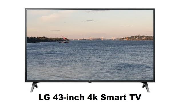 LG 43-inch 4k Smart TV