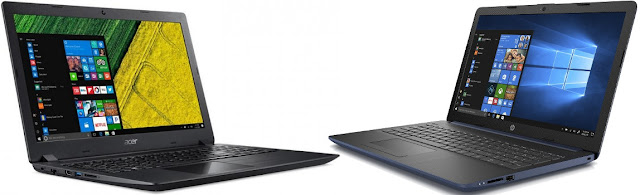 Comparativa portátiles 15,6 con Intel Core i3 y SSD de 400 euros
