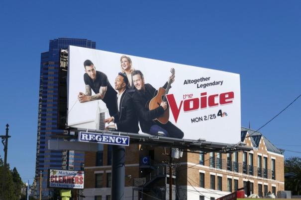 Voice season 16 billboard