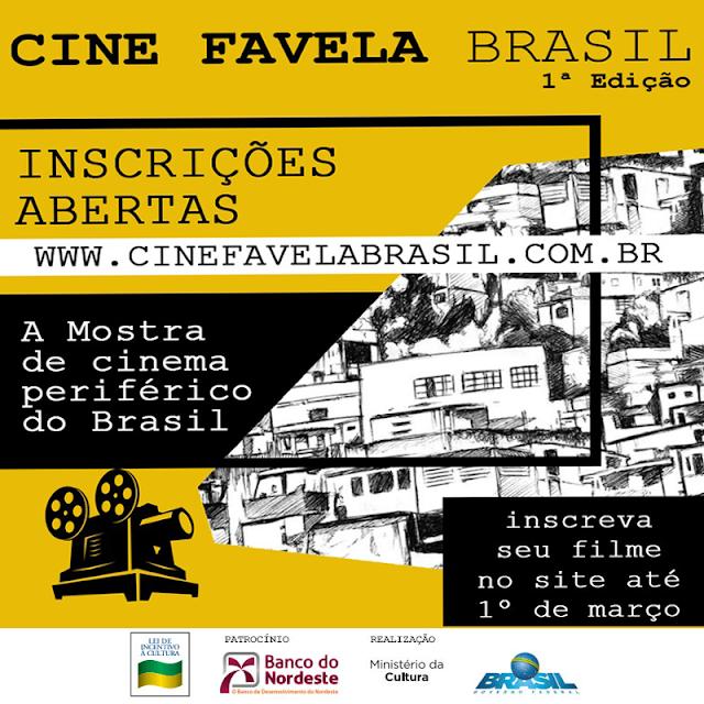 Inscrições abertas para exibição de filmes produzidos nas periferias do Brasil