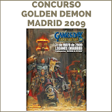 CONCURSO GOLDEN DEMON 2009 MADRID