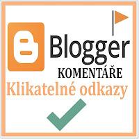 Blogger komentáře