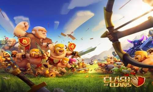 Clash of Clans Mod Hack APK (Unlimited Gold Gems Dark Elixir)