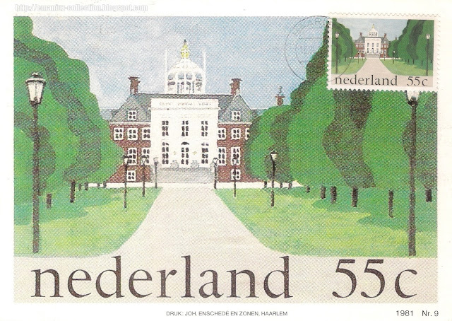 Postcard from the Netherlands | 1981 The Royal Palace in The Hague