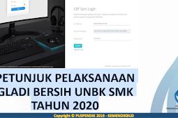 Download Petunjuk Pelaksanaan Gladi Bersih SMK 2020
