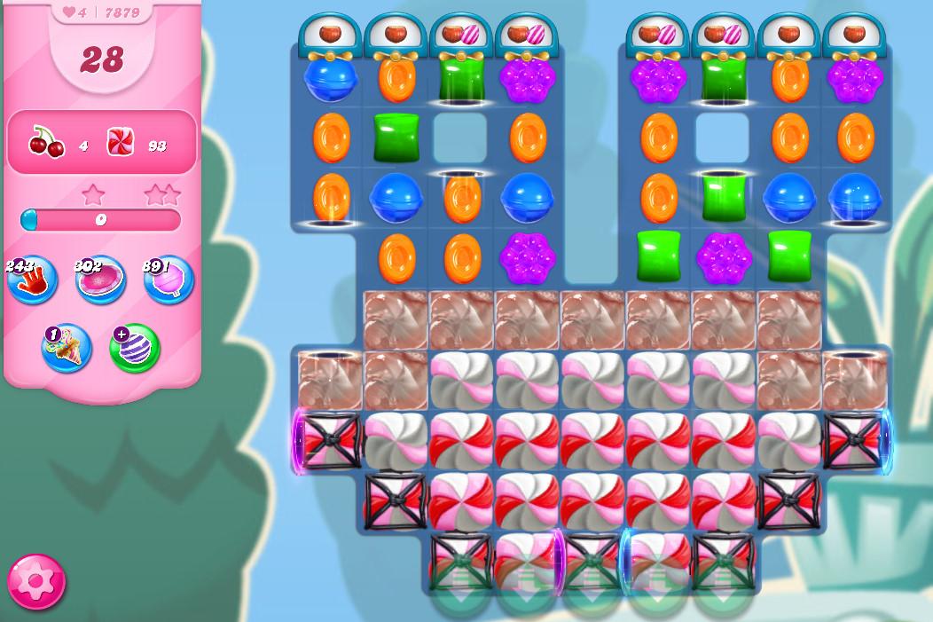 Candy Crush Saga level 7879