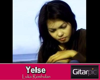 Chord Gitar Yelse - Luka Rembulan