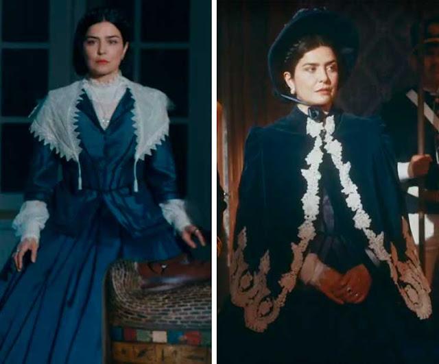 Tereza Cristina vestidos na novela