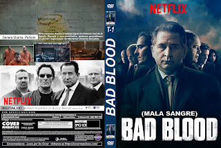 MALA SANGRE – BAD BLOOD 2017 2018 T1-2 [COVER – SERIE – DVD]