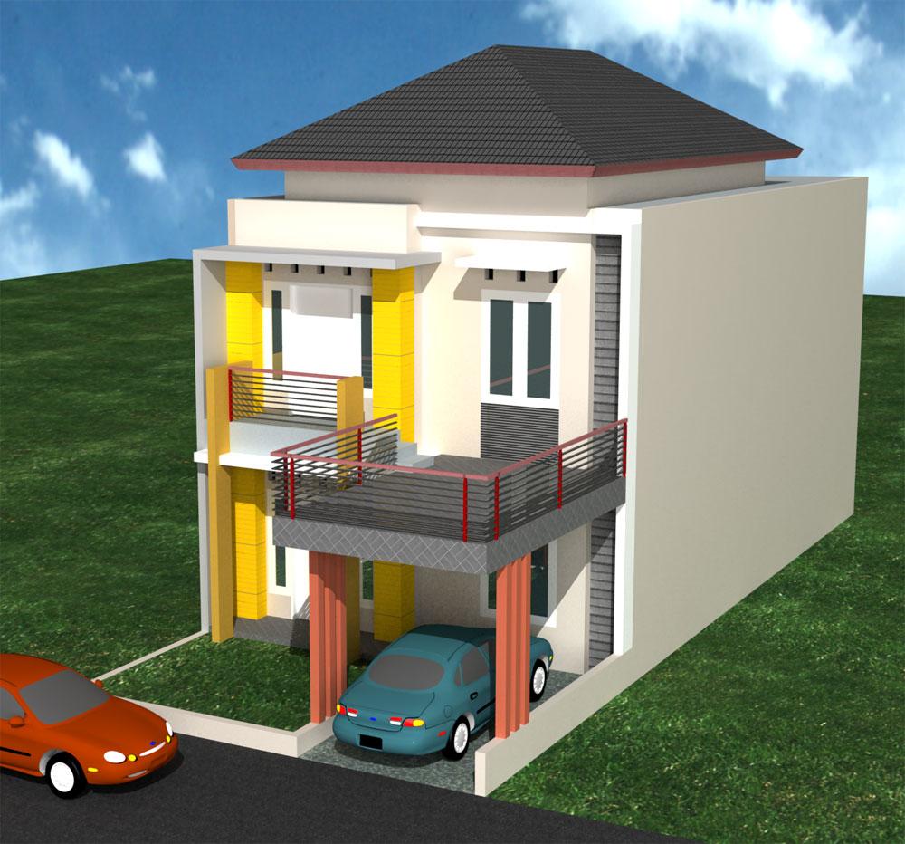 Konsep 27 Desain Rumah Minimalis Type 36/60 2 Lantai ...