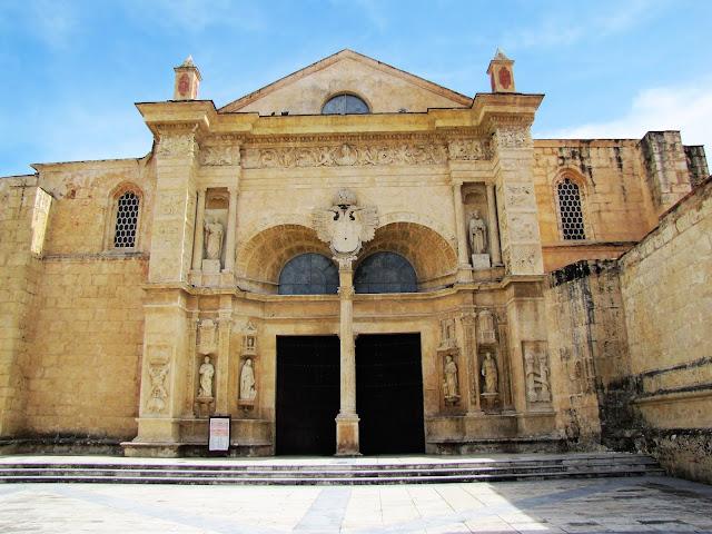 Cathedral of Santa María la Menor zona colonial santo domingo dominican republic
