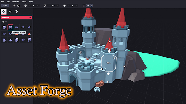 The Most Easiest 3D Software : Asset Forge
