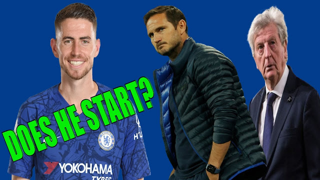 CRYSTAL PALACE vs CHELSEA | MATCH PREVIEW IN FIVE MINUTES | WILL JORGINHO START?