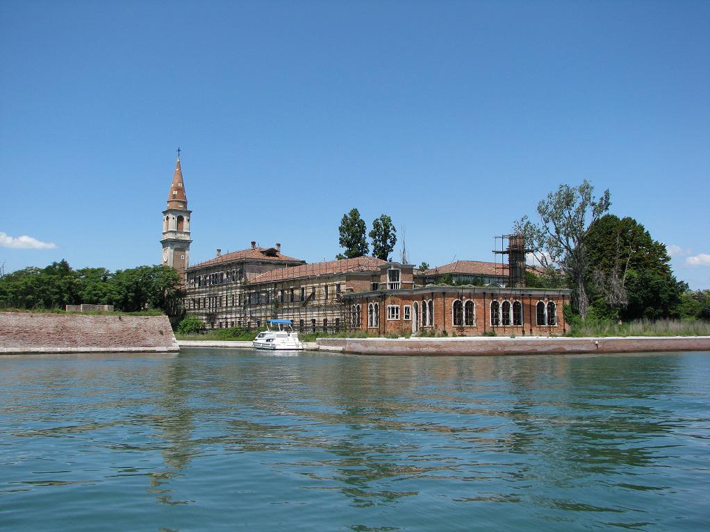 Island of Poveglia.