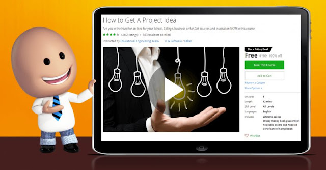 [100% Off] How to Get A Project Idea| Worth 100$