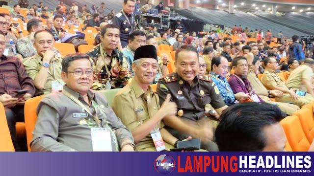 Bupati Pringsewu Hadiri RAKORNAS Kepala Daerah Seluruh Indonesia Tahun 2019