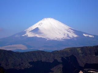 Visión del Monte Fuji desde Owakudani