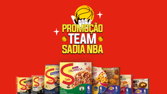 Promoção Team Sadia NBA - Concorra a prêmios todos os dias