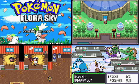 Pokemon Flora Sky GBA ROM Download