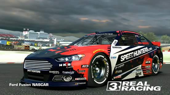 Ford fusion nascar speed hunters