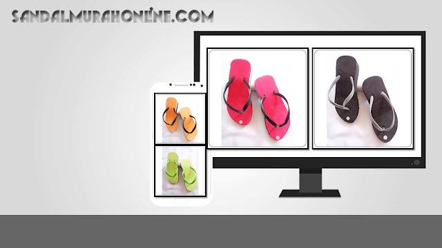 Hak Tinggi Polos TG why TERBARU - sandal murah bandung