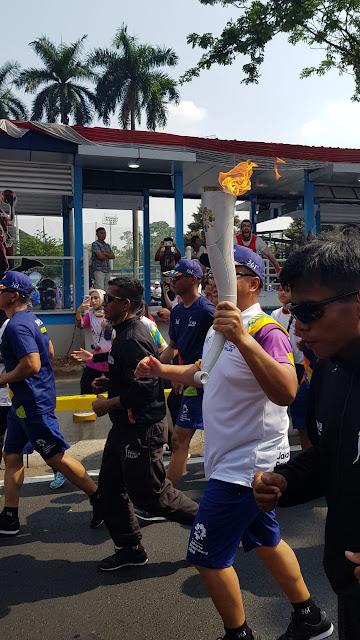 Euforia Torch Relay Asian Games 2018 Bersama Bank Mandiri di Jakarta