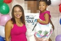Mulher mata filha de 5 anos e arranca olhos e língua dela com tesoura