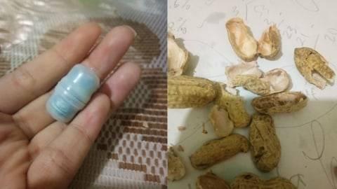 Nemu Kapsul saat Asyik Makan Kacang Kulit, Pas Dibuka Isinya Mengejutkan